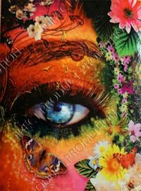 "Diamond painting ""Colorful eye"""