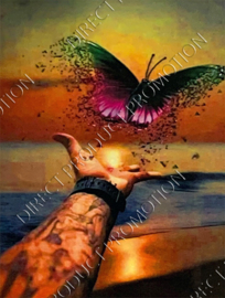 """Diamond painting """"Release butterfly"""""""