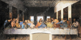 "Diamond painting ""Leonardo da Vinci's Last Supper"""