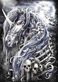 "Diamond painting ""Gothic unicorn"""