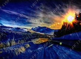 "Diamond painting ""Mountain landscape"""