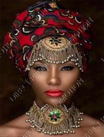 "Diamond painting "" African lady"""