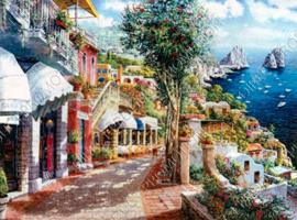 """Diamond painting """"Boulevard Greece"""""""