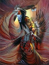 "Diamond painting ""Fantasy indian"""