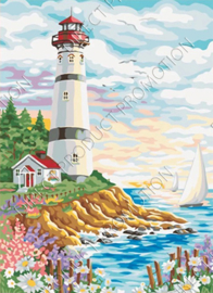 "Diamond painting ""Lighthouse"""