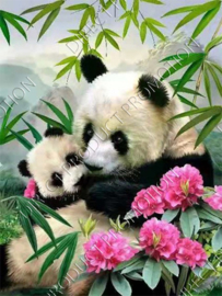 "Diamond painting ""Pandas"""