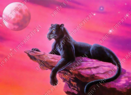 "Diamond painting ""Black Panther"""