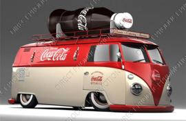 """Diamond painting """"Coca Cola VW van"""""""