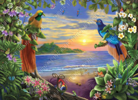 "Diamond painting ""Paradise"""