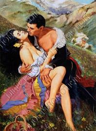 """Diamond painting """"Make love"""""""