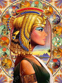 "Diamond painting ""Cleopatra"""