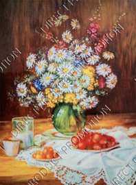 "Diamond painting ""Still life on the table"""