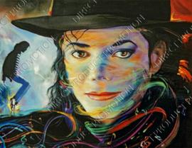 """Diamond painting """"Michael Jackson"""""""