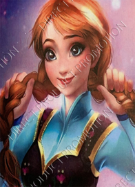 "Diamond painting ""Anna from Frozen"""