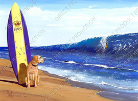"Diamond painting ""Beach dog"""
