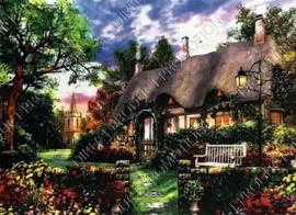 "Diamond painting ""Country house"""