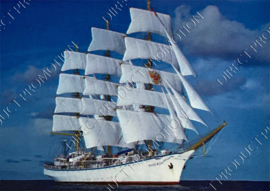"Diamond painting ""Sailing ship"""