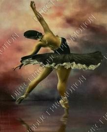 """Diamond painting """"Ballerina"""""""