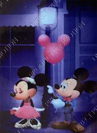 "Diamond painting ""Mickey and Minnie Mouse"""