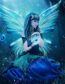 "Diamond painting ""Butterfly fairy"""