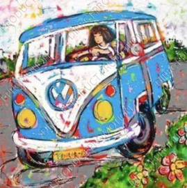 "Diamond painting ""Volkswagen van"""