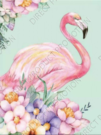 "Diamond painting ""Flamingo"""
