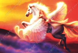 "Diamond painting ""White Pegasus horse"""