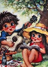 """Diamond painting """"Cozy picnic"""""""