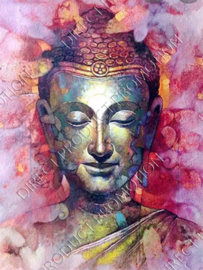 "Diamond painting ""Buddha head"""