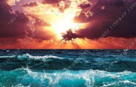 "Diamond painting ""Sea sunset"""