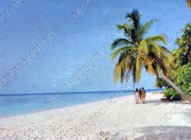 """Diamond painting """"Tropical beach"""""""