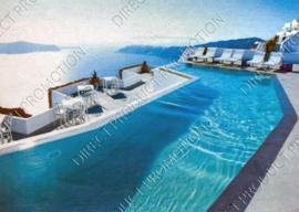 """Diamond painting """"Hotel sea view"""""""
