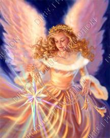 """Diamond painting """"Angel"""""""