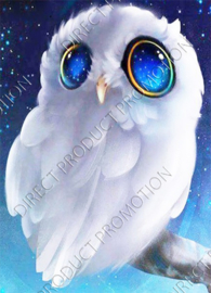 "Diamond painting ""White owl"""