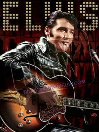 "Diamond painting ""Singing Elvis Presley"""