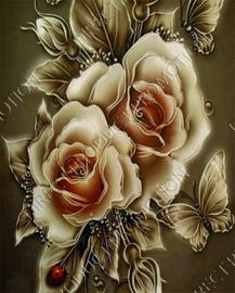 """Diamond painting """"Roses"""""""