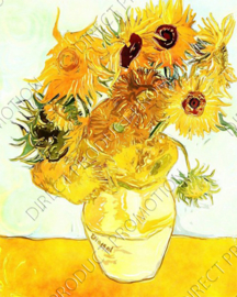 "Diamond painting ""Sunflowers by Vincent van gogh"""