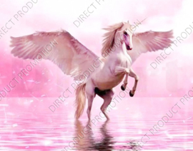 "Diamond painting ""Unicorn with wings"""