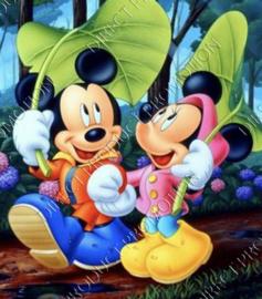 """Diamond painting """"Mickey and Minnie"""""""