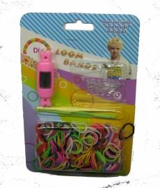 Loom bands Horloge Candy Roze (digitaal)