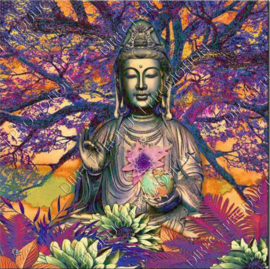 "Diamond painting ""Buddha with lotus"""