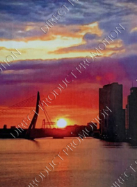 "Diamond painting ""Erasmus Bridge Rotterdam"""
