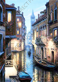 "Diamond painting ""Italy"""