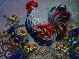 """Diamond painting """"Rooster"""""""