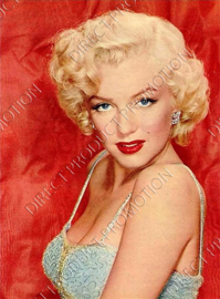 "Diamond painting ""Marilyn Monroe with red background"""