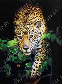 "Diamond painting ""Creeping leopard """