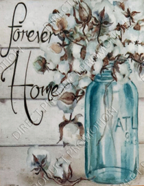 """Diamond painting """"Forever Home"""""""