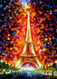 "Diamond painting ""Eiffel tower"""