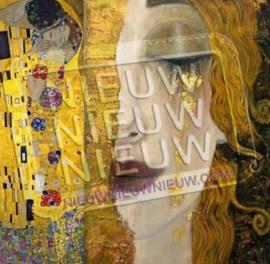 "Diamond painting ""Golden Tears by Gustav Klimt"""
