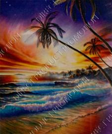 """Diamond painting """"The sea"""""""